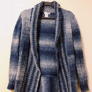 Waterfall indie knitted cardigan